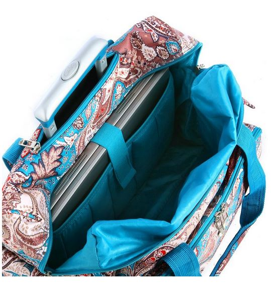 Paisley Fashion Rolling Carry-on Bag