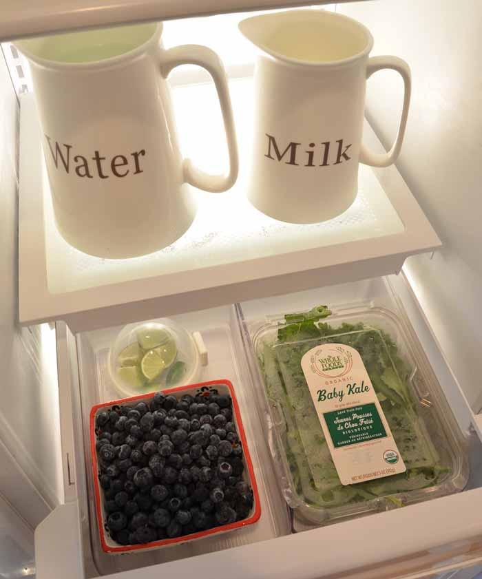 Refrigerator or Shelf Storage Bins