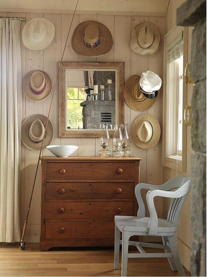 Sarah Richardson's Beach Cottage Chest & Hats