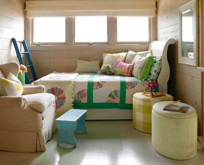 Sarah Richardson's Loft Bedroom in Summer Beach House