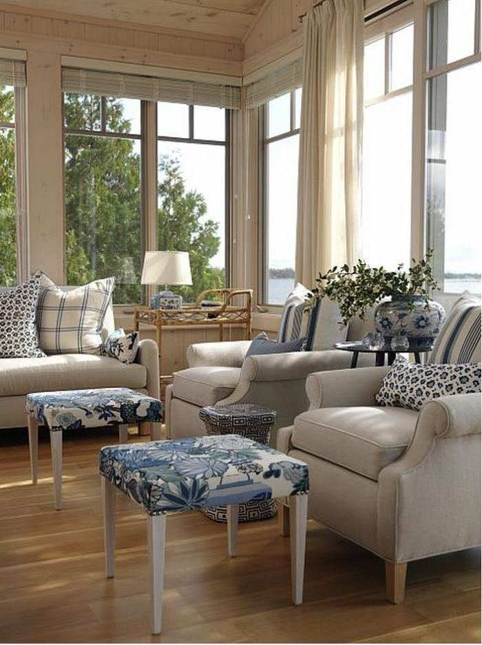 Sarah Richardson's Summer Beach House Cottage Living Room