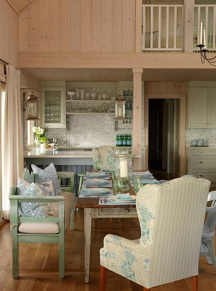 Sarah Richardson's Summer Beach House Kitchen