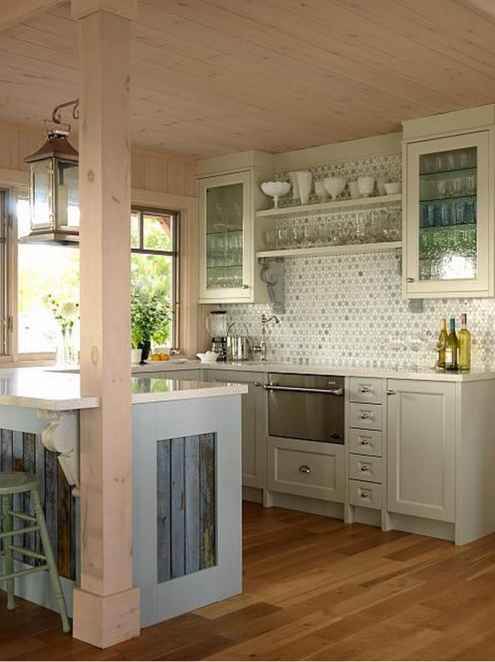 Sarah Richardson's Summer House Kitchen