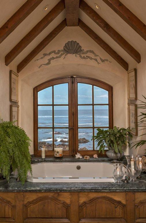 Spa Bath with ocean views