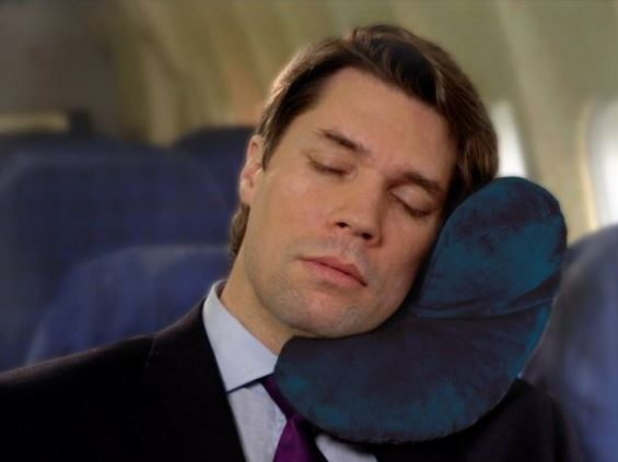 Travel Pillow for Flying on Planes
