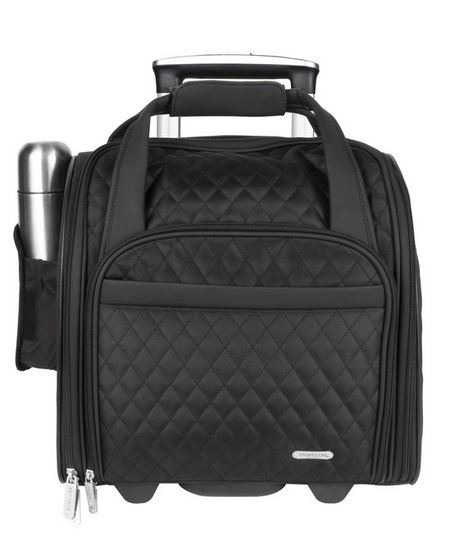 Travelon Underseat Rolling Carry-On Bag