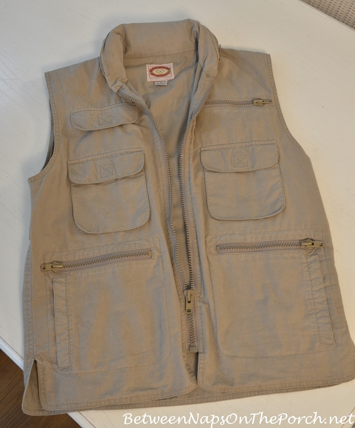 Banana Republic Photography Vest from 1987