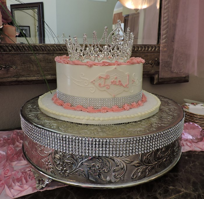 Cake for Girl Baby Shower