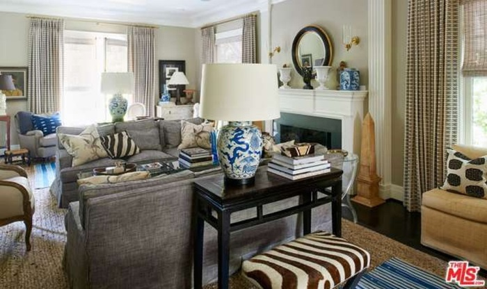 Decorating with Blue & White Porcelain