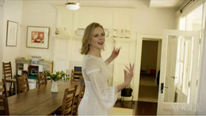 Dining Room in Nicole Kidman's Home In Australia