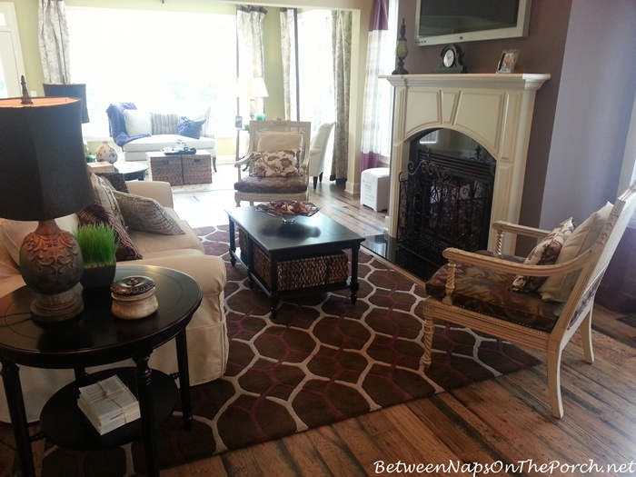 Geometric Rug for Living Room