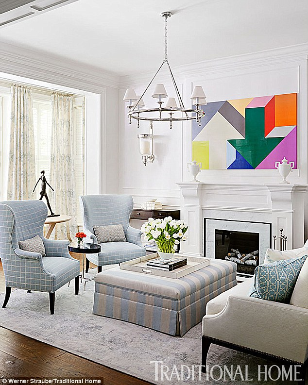 Giuliana & Bill Rancic Living Room in Chicago Home