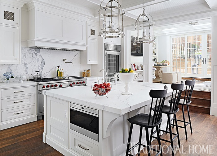 Giuliana & Bill Rancic's Kitchen in Chicago Home