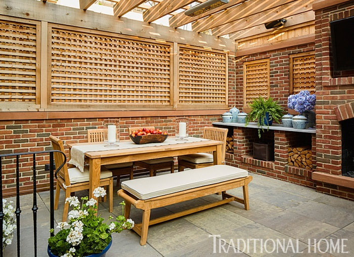 Giuliana & Bill Ranci's Chicago Home Patio & Deck