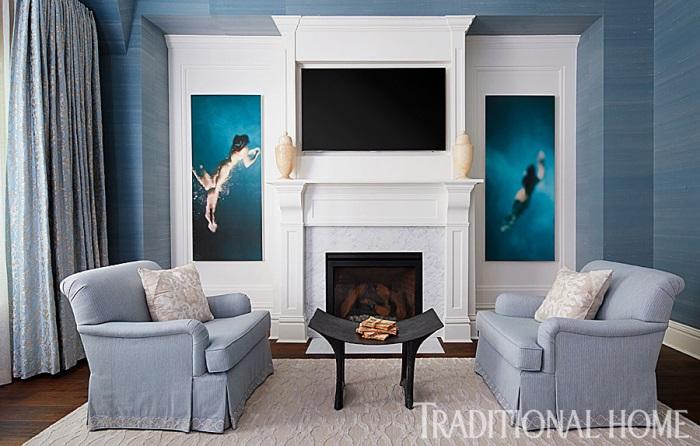 Giuliana & Bill Ranci's Chicago Master Bedroom Sitting Area