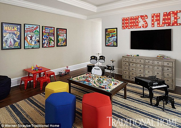 Giuliana Rancic Son's Playroom in Chicago Home