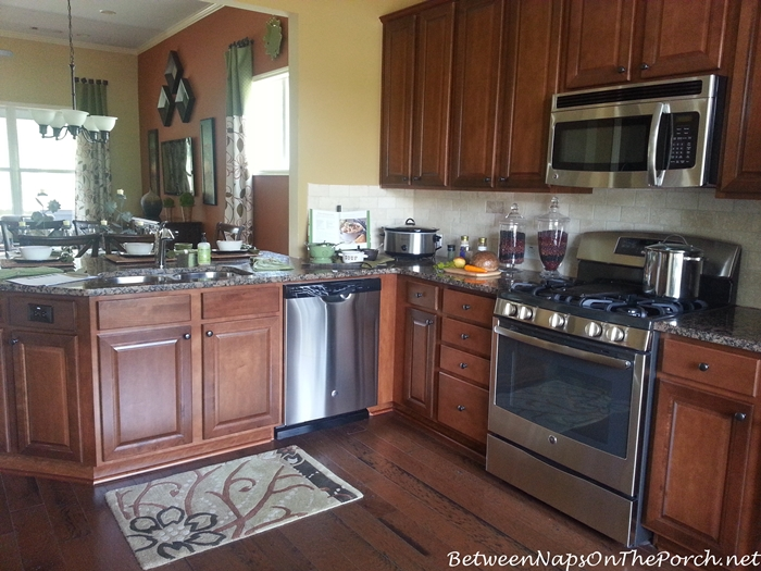 Kitchen with Wood Cabinetry and Stainless Appliances
