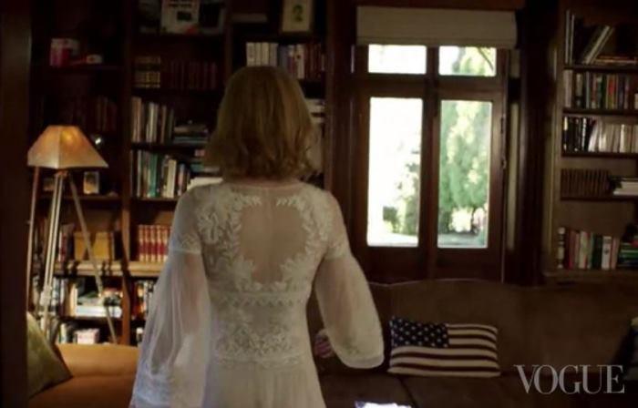 Library in Nicole Kidman's Home In Australia