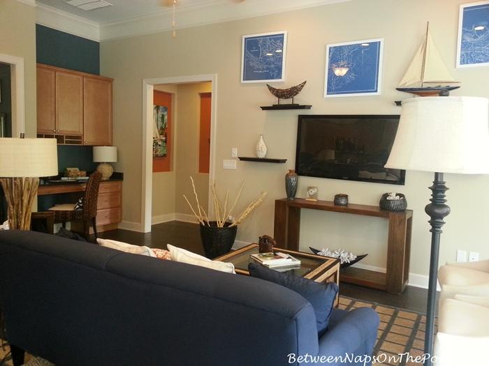 Nautical Decor for Living Room