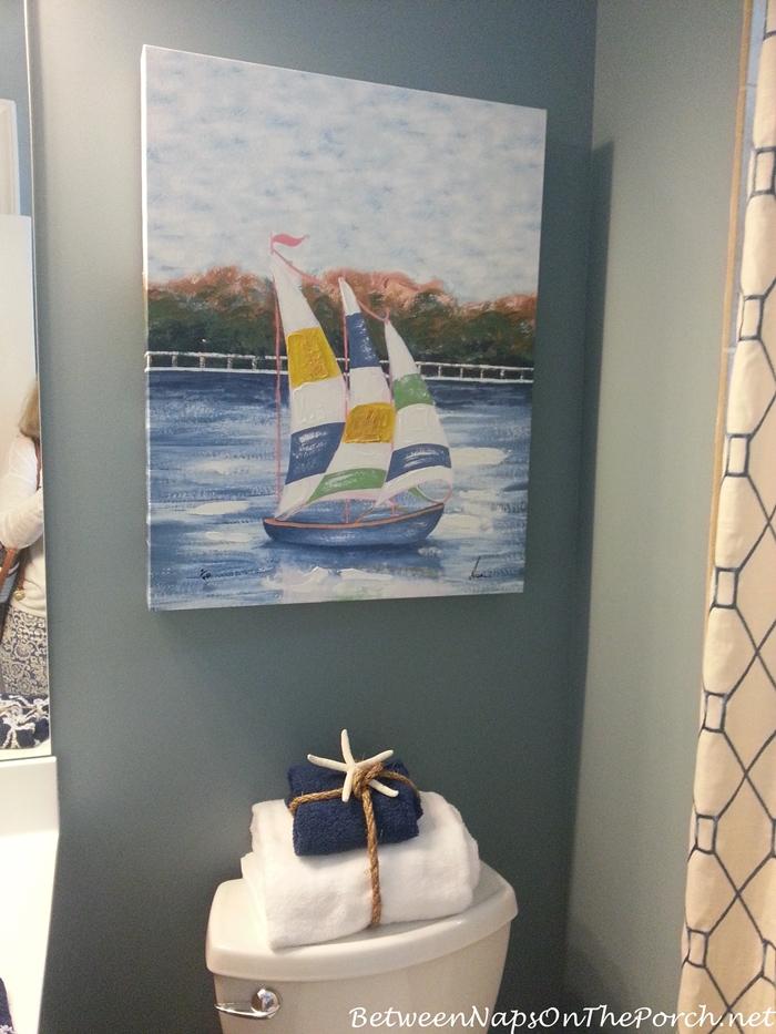 Nautical Sailboat Art