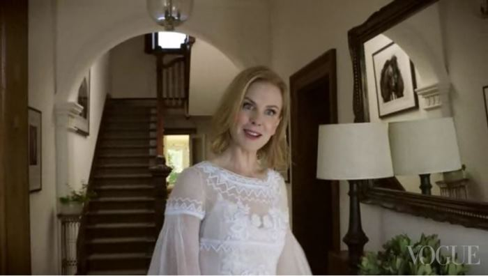 Nicole Kidman Entry Australia Home