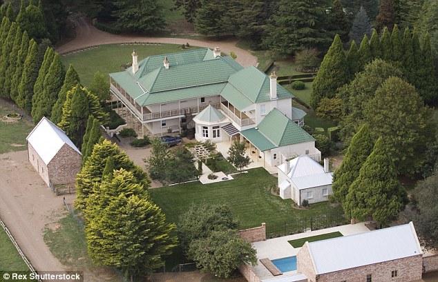 Nicole Kidman & Keith Urban's 1878 Georgian Australia Home