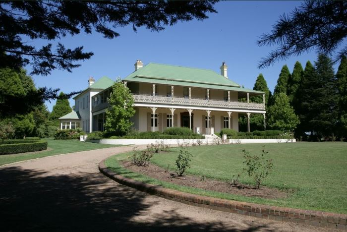 Nicole Kidman, Keith Urban's Home Bunya Hill in Sutton Forest Australia