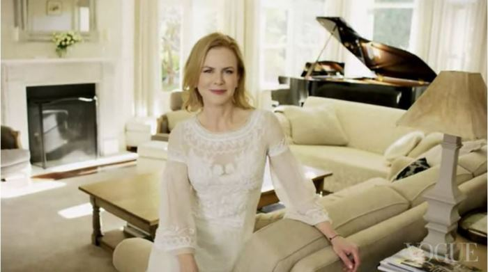 Nicole Kidman's Living Room in Australia Home