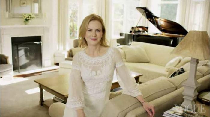 Nicole Kidman's Living Room in Australia Home