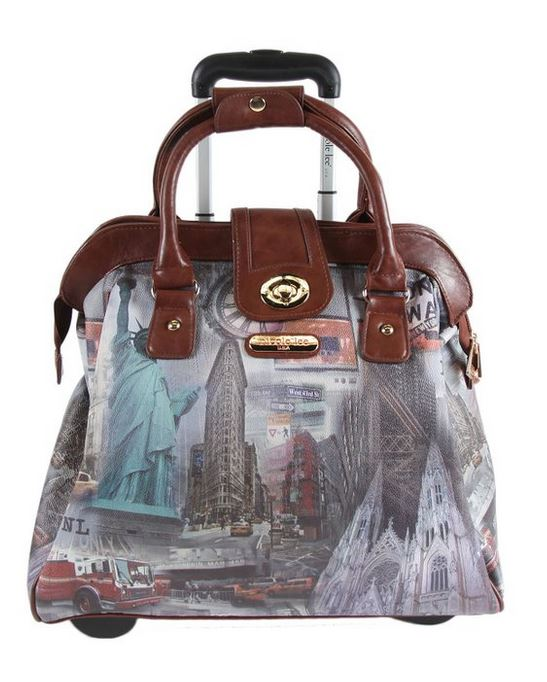 Nicole Lee Rolling Travel Bag & Business Tote
