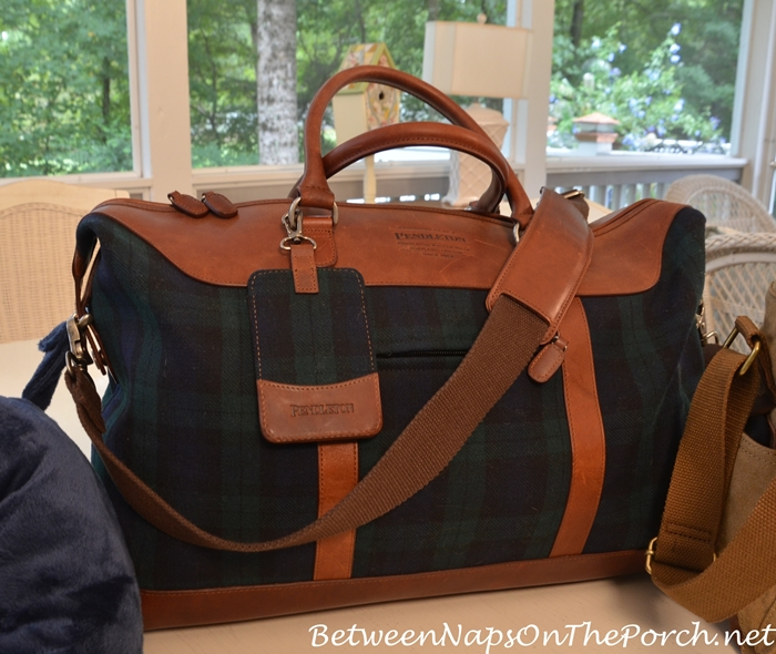 Pendleton Plaid Weekender Bag