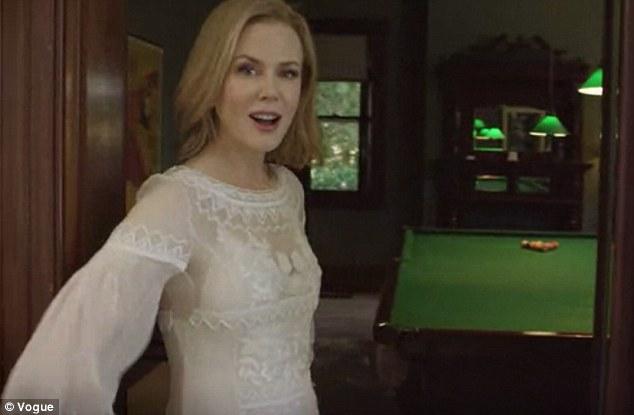 Pool Room in Nicole Kidman's Australia Home