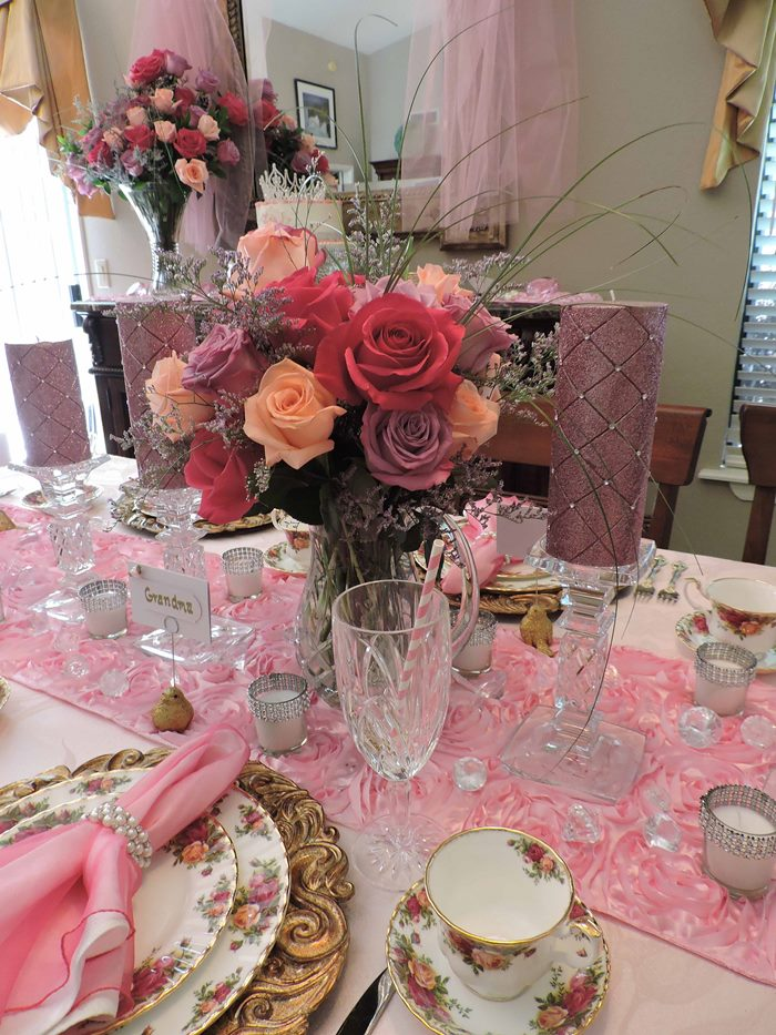 Princess Themed Baby Shower in Pink 02