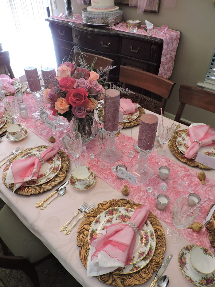 Princess Themed Baby Shower in Pink 03
