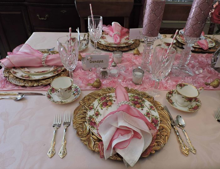 Princess Themed Baby Shower in Pink 04