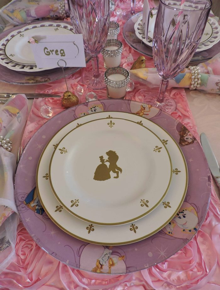 Princess Themed Baby Shower in Pink 07