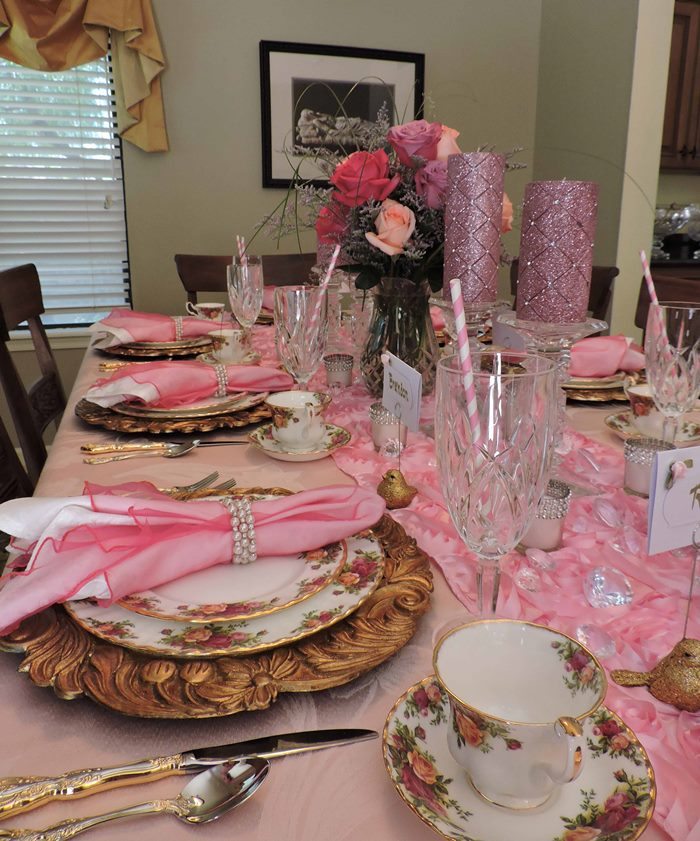 Princess Themed Baby Shower in Pink 12