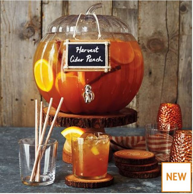 Pumpkin Beverage Server