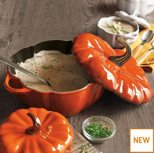 Pumpkin Cocotte for Soups and Stews