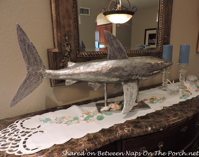 A Sea Life Beach Themed Table Setting