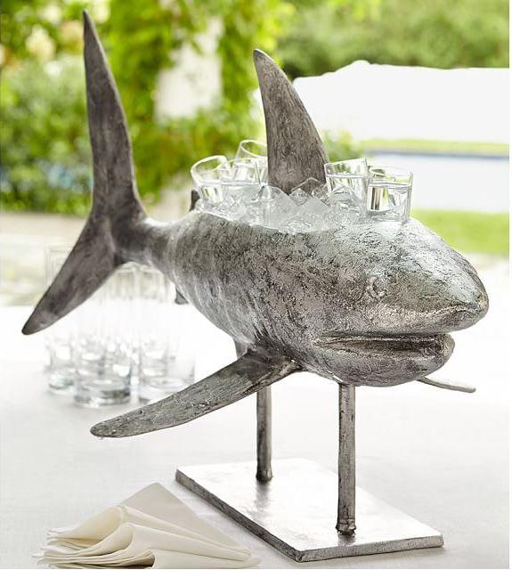 Shark Beverage Cooler