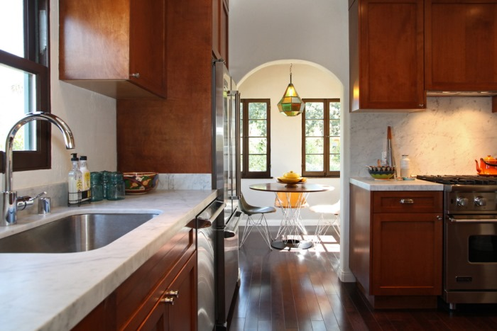 Spanish Bungalow Kitchen After Renovation