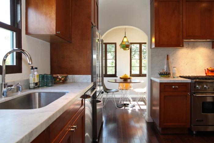 Spanish Bungalow Kitchen After Renovation