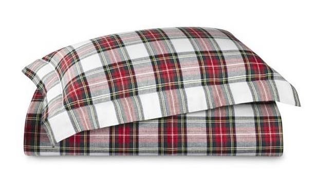 Williams Sonoma Stewart Tartan Bedding