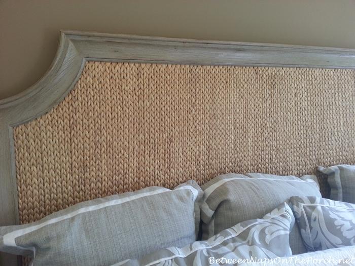 Woven Headboard Panel Bed at Wayfair