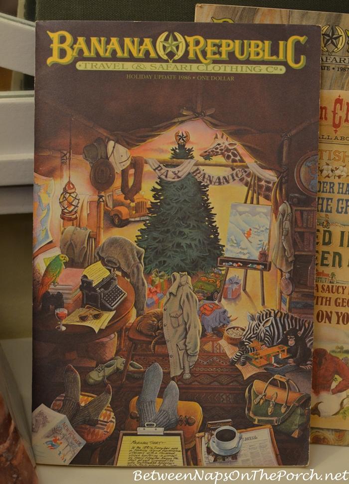 1986 Banana Republic Holiday Catalog