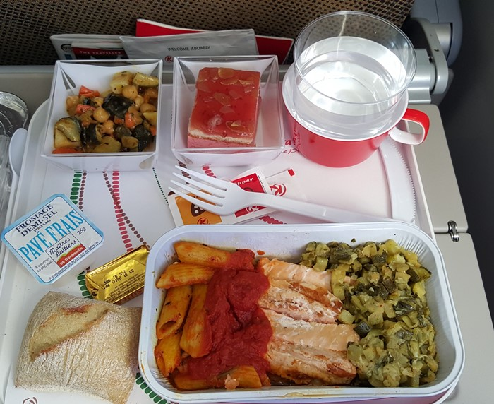 Airplane Meals