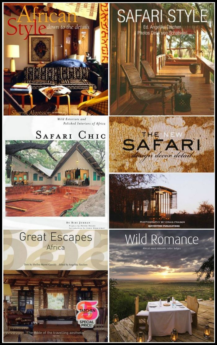 Books on Decorating in Safari Style