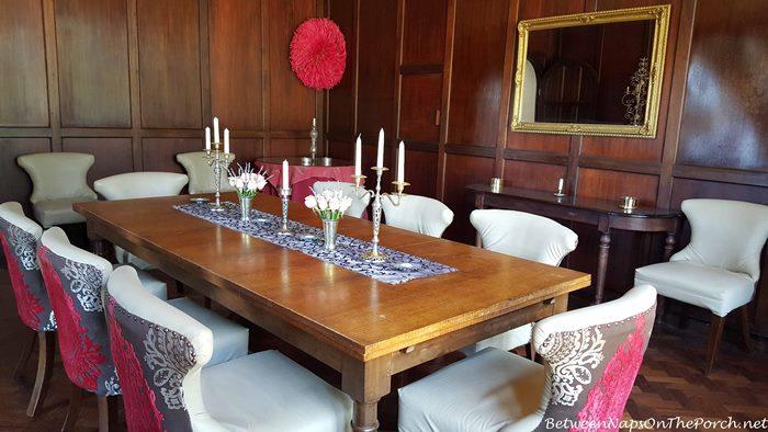 Dining Room, Giraffe Manor