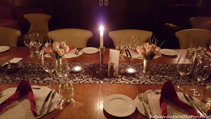 Dining in Giraffe Manor by Candlelight